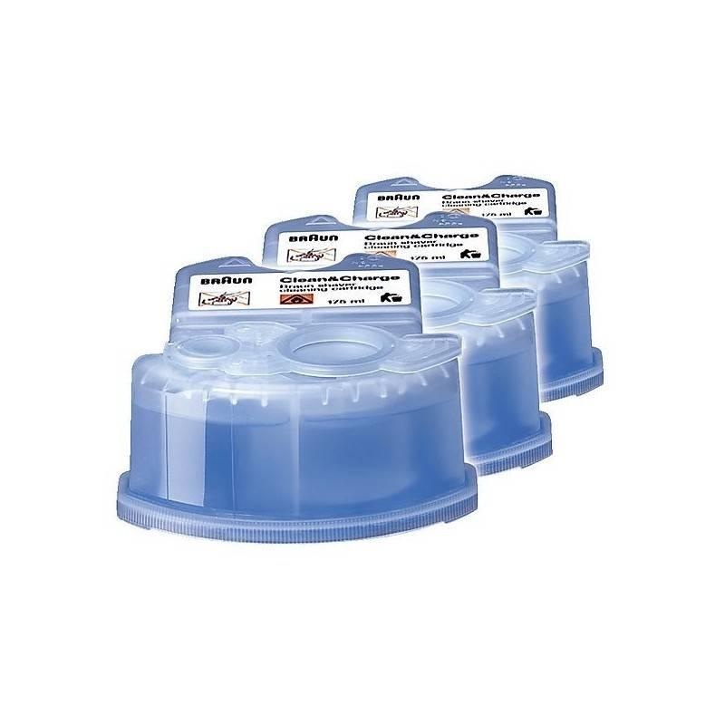 Kartridžas su skysčiu BRAUN barzdaskučių valymui CCR 3 (CCR3)