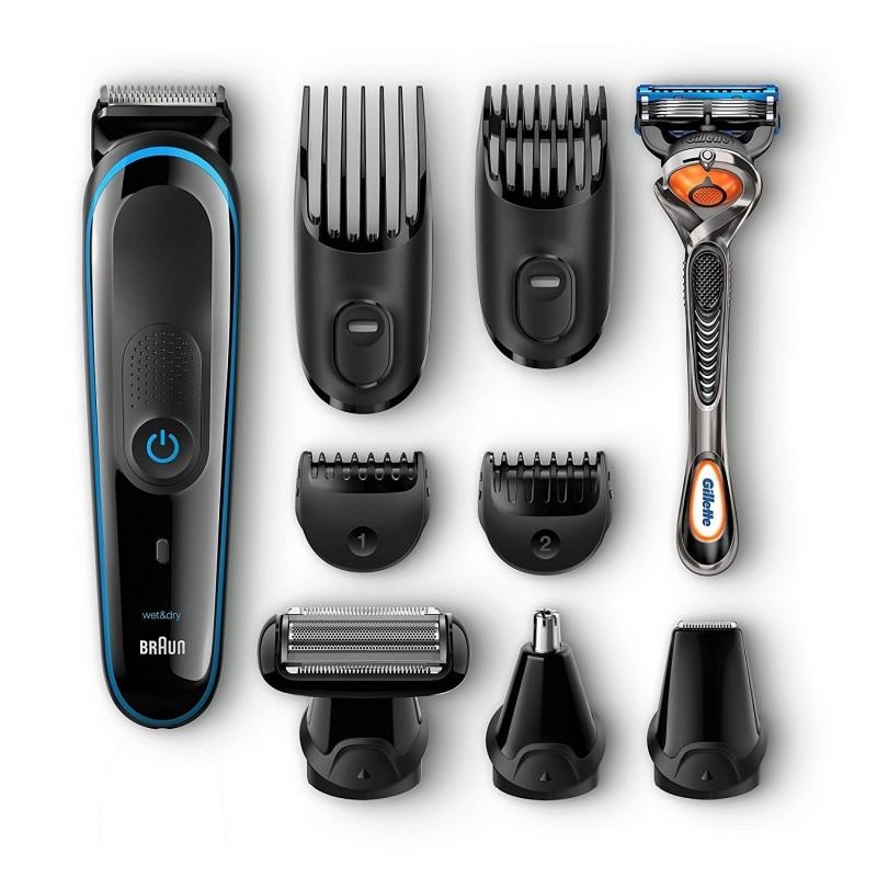 Braun MGK3080 didžiausios komplektacijos barzdakirpės komplektas (MGK 3080)