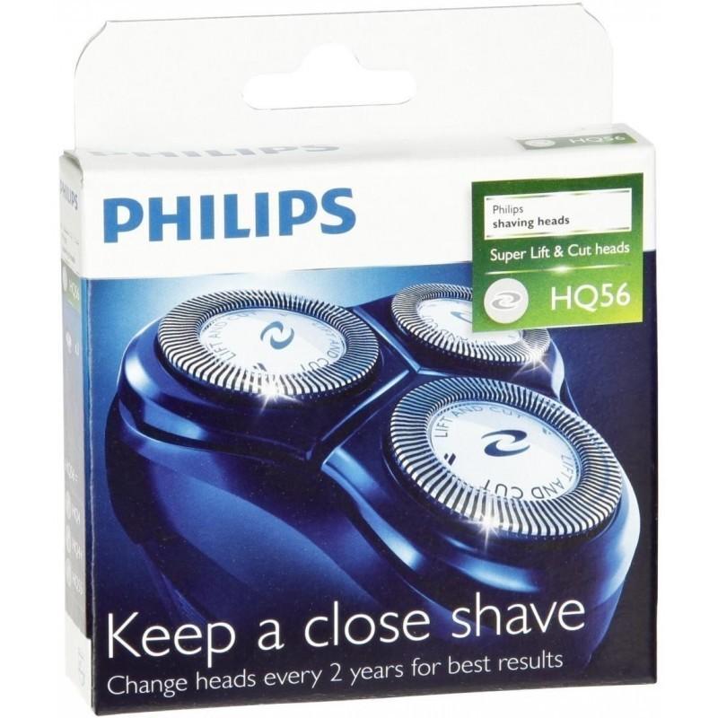 Philips HQ56 keičiama barzdaskutės galvutė ir peiliukai (HQ 56)