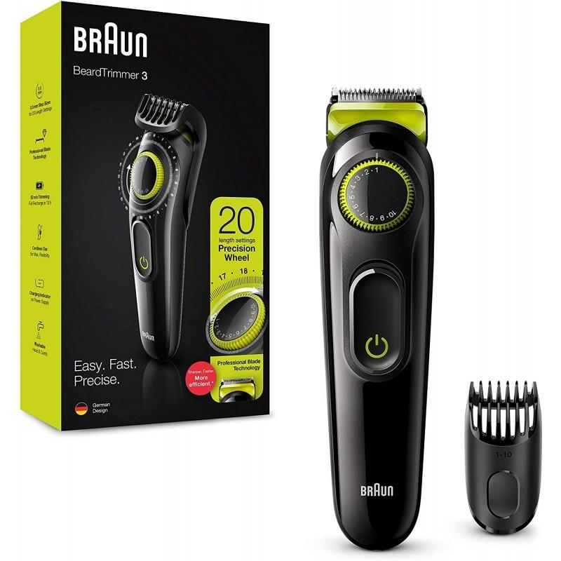 Braun BT3221 barzdos ir plaukų trimeris