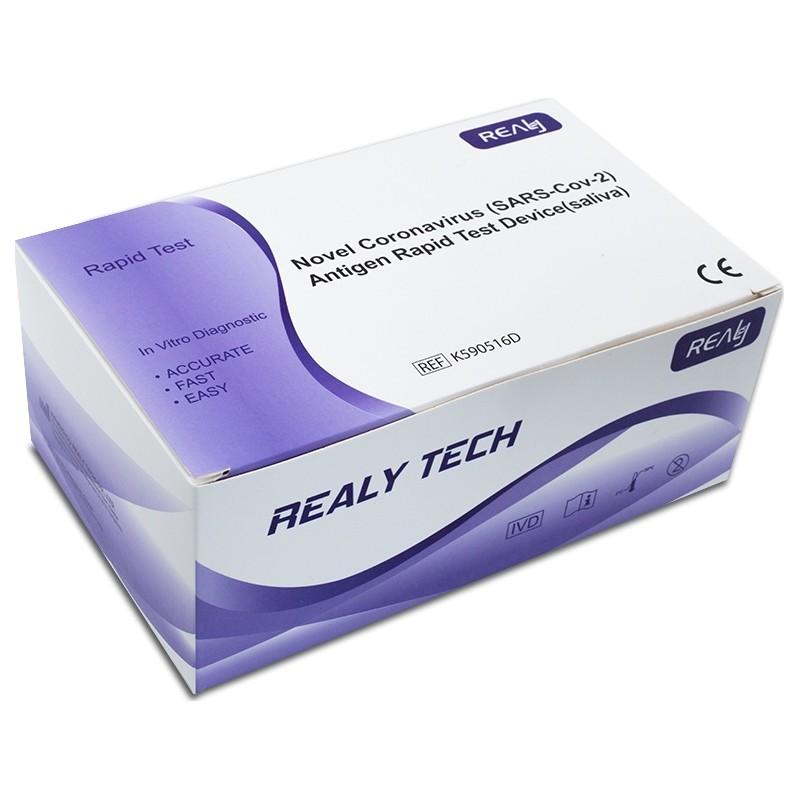 50vnt greitieji medicininis seilių testai Covid19 antigeno testas
