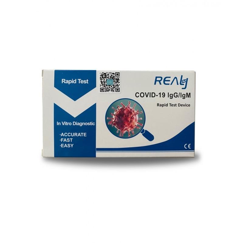 50vnt greitieji medicininiai antikūnių testai  Covid19 - antikūnių testas